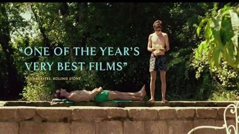 Call Me By Your Name TV Movie Trailer - iSpot