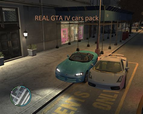 Carlist feature - The Real GTA IV cars pack mod for Grand