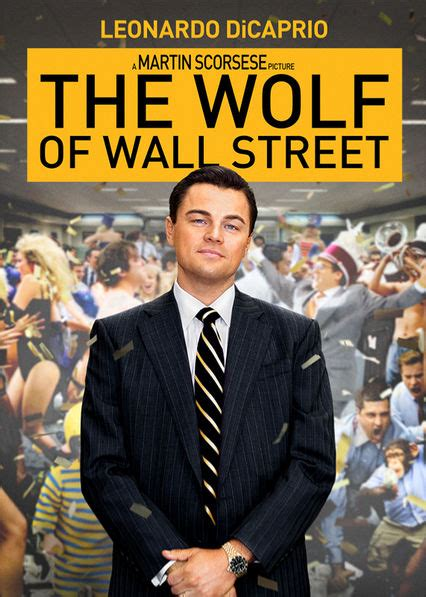 Is 'The Wolf of Wall Street' available to watch on
