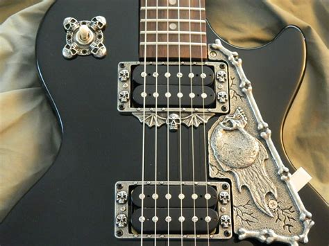 9 skull parts package for gibson & epiphone les paul | Reverb