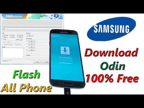 Download Odin (All Versions) for Samsung Galaxy