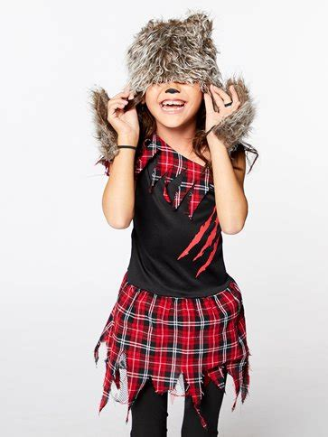 Werewolf Girl - Child Costume | Party Delights