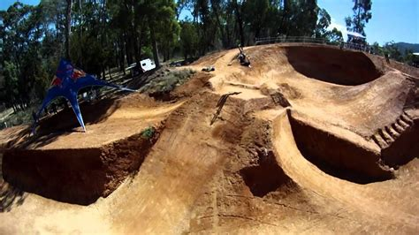BIG BMX dirt competition in Australia - Red Bull Dirt Pipe