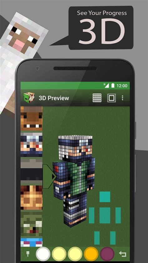Skin Editor Tool for Minecraft » Apk Thing - Android Apps