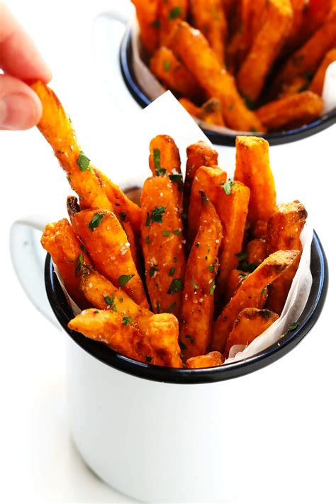 The BEST Sweet Potato Fries Recipe!   Gimme Some Oven