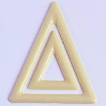 CHOCOLATE DECORATION MOLD - TRIANGLES-MART-20-D022
