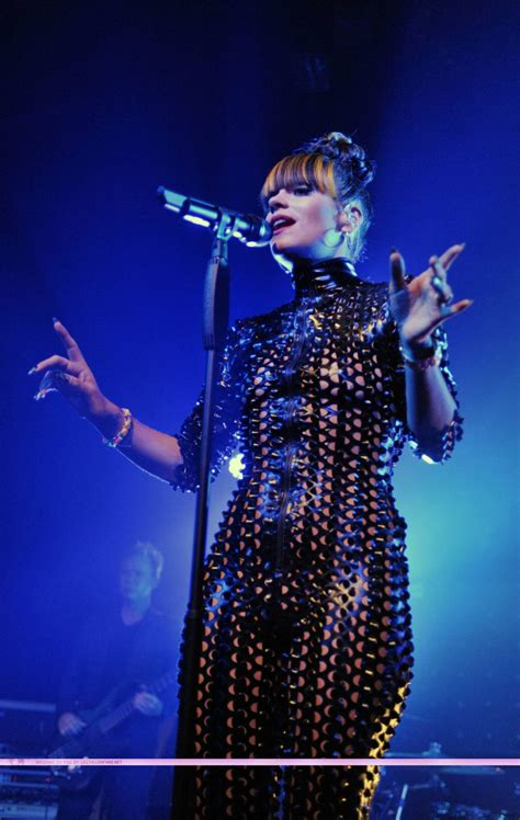 Lily Allen in Catsuit Live at Mojo Club in Hamburg Germany