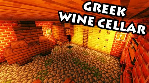 Minecraft Tutorial #33 - Greek House - How to Build a Wine