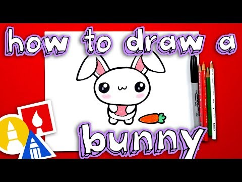 Step by Step How to Draw Bugs Bunny : DrawingTutorials101