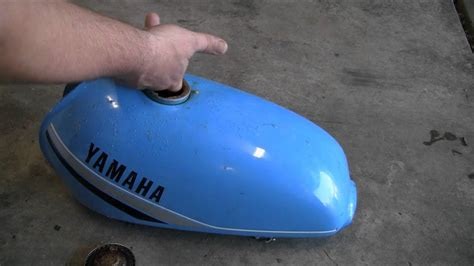 Remove Rust From Motorcycle Gas Tank: Less Than 5 Dollars