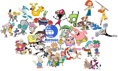 NickToons: All your favourite Nickelodeon characters are