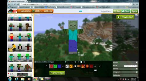 how to change a mobs skin: Minecraft Texture pack - YouTube