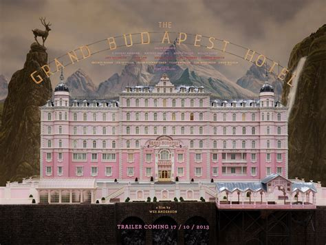 First Poster for 'The Grand Budapest Hotel' Advertises a