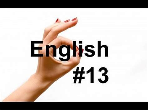 Learn Easy English Lesson #13 (American Accent) Gestures
