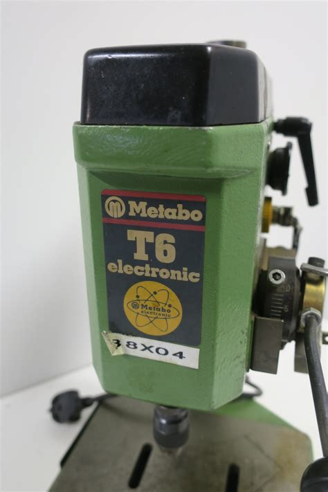Bench drill Metabo T6 electronic - PS Auction - We value