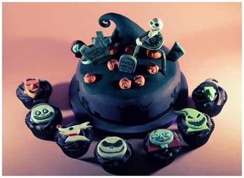 The Nightmare Before Christmas Cake & Cupcakes on Behance