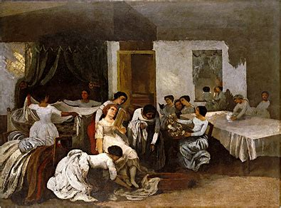 Gustave Courbet - Metropolitan Museum - Art- Review - The