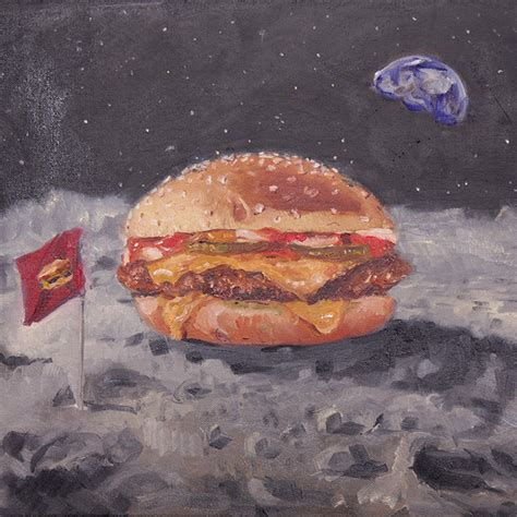 McDonald's Unveils Burger-Inspired Art During Its First