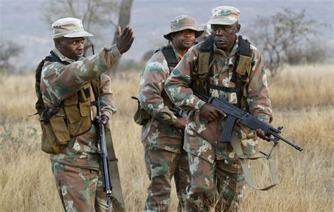 South African troops fight back as poachers kill hundreds