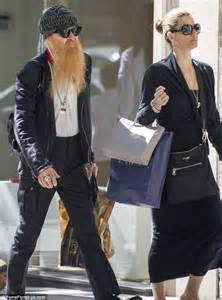 ZZ Top star Billy Gibbons' trademark beard stands out as